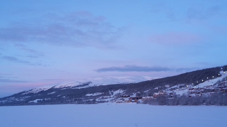 Mountains in north of Sweden