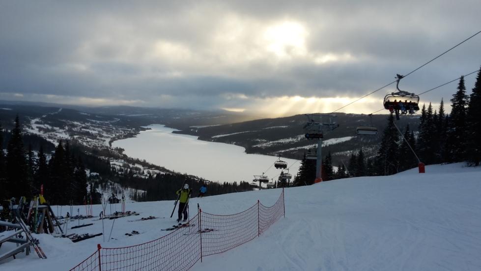 Alpine skiing Åre