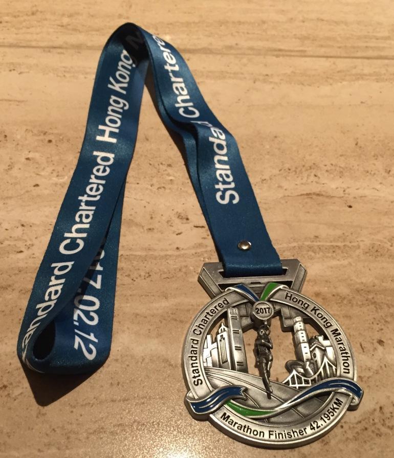 Marathon medalj
