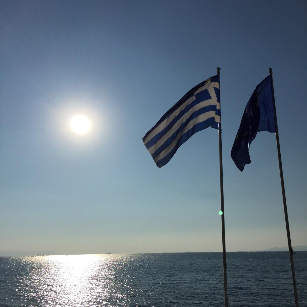 Grekiska flaggan
