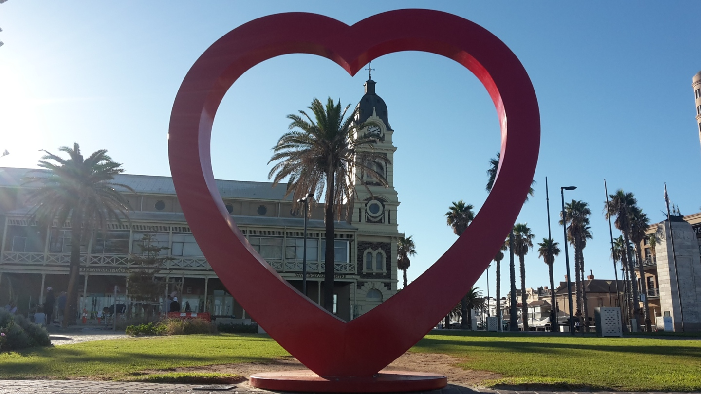 Heart in Adelaide