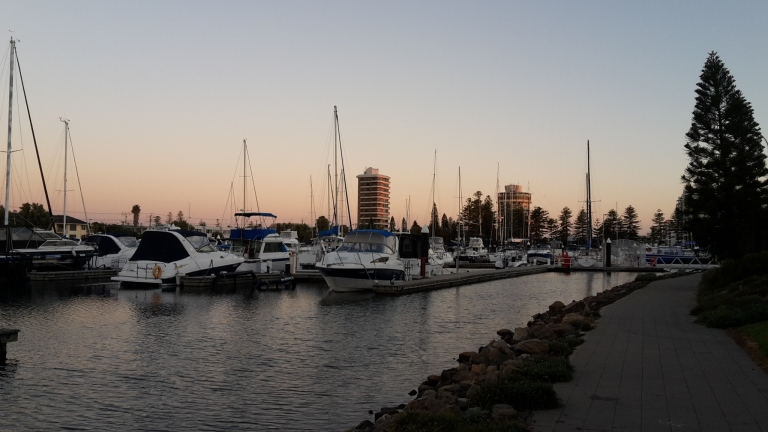 Port in Glenelg