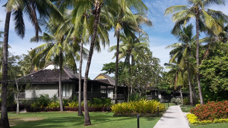 Hotel at Fiji