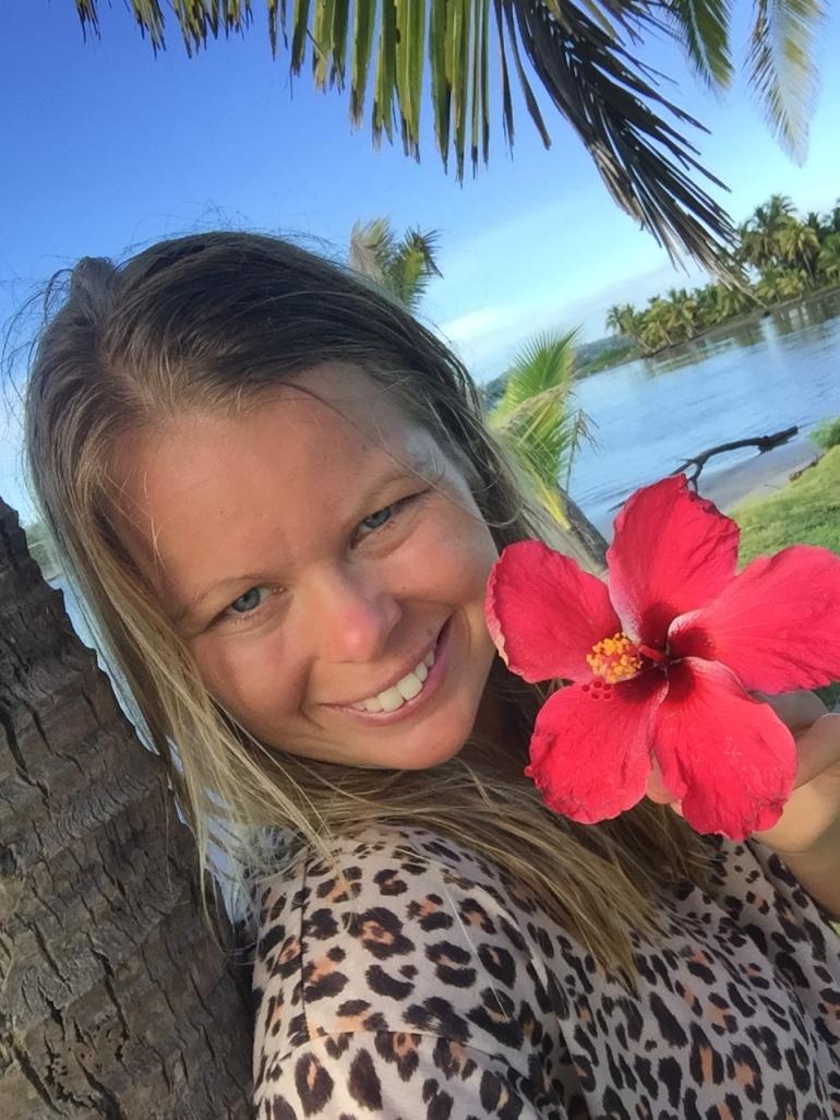 Fiji selfie
