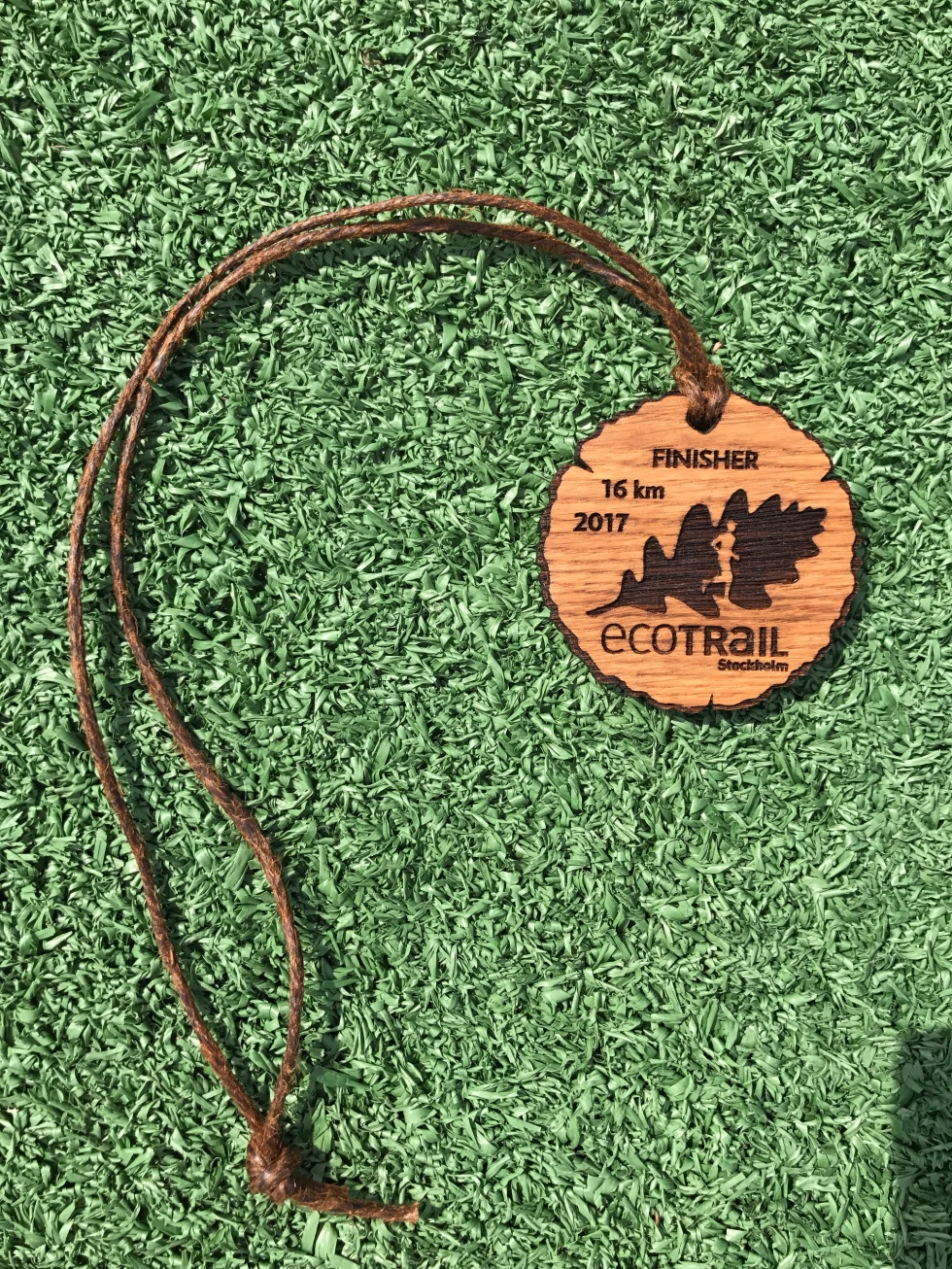 Ecotrail medal