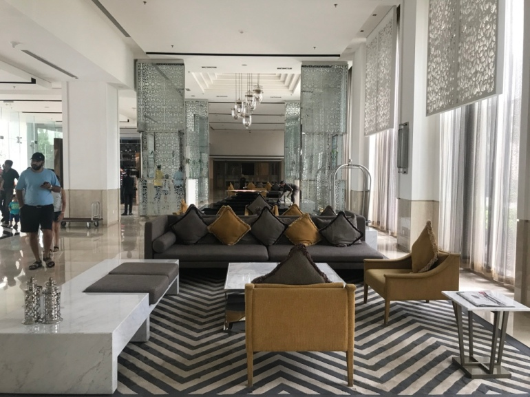 Hotell lobby
