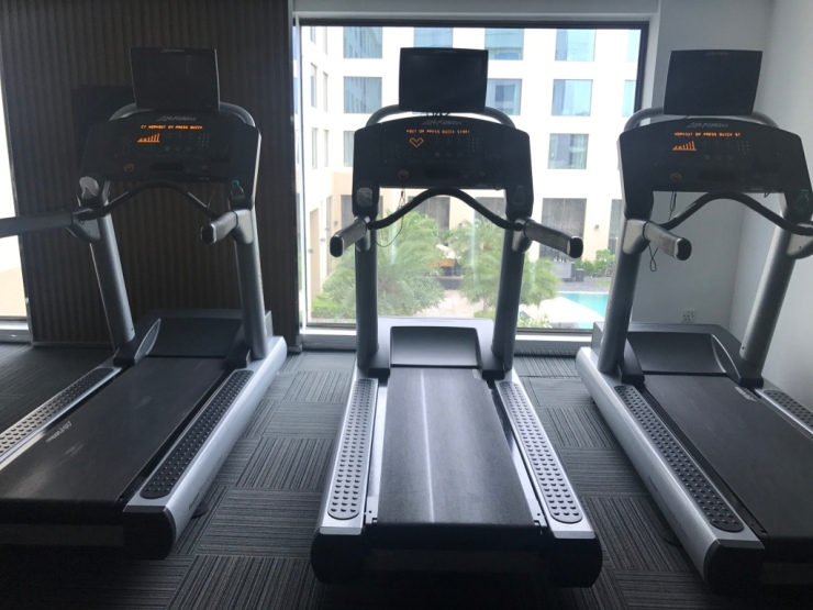 Hotell gym