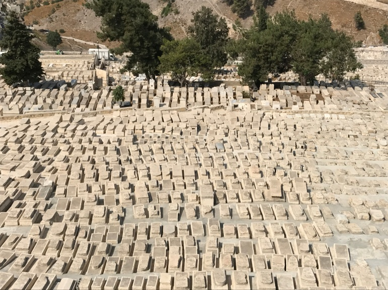 Grave yard Mt Olive