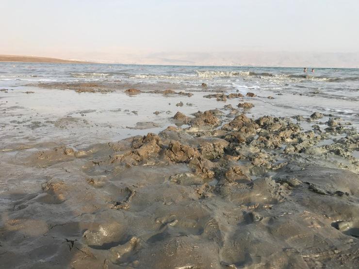 Mud dead sea