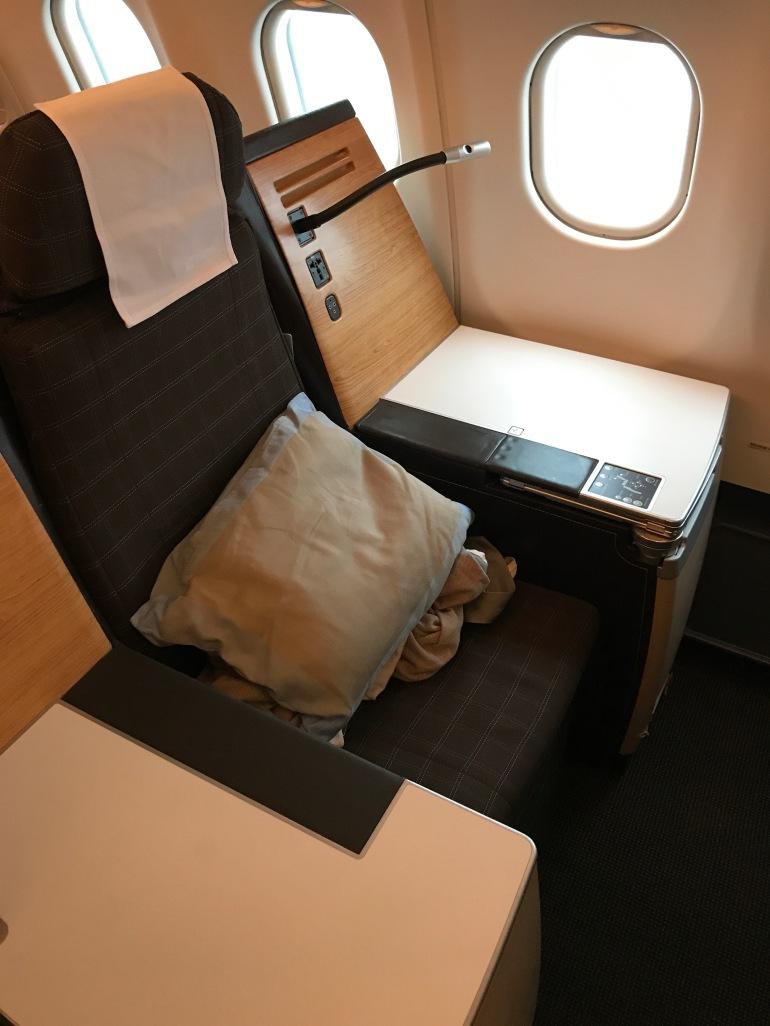 Business seat Swiss
