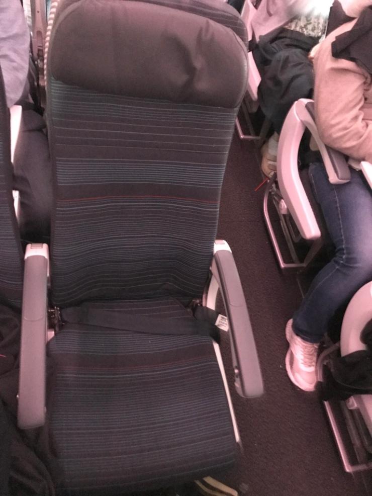 Air Canada seat