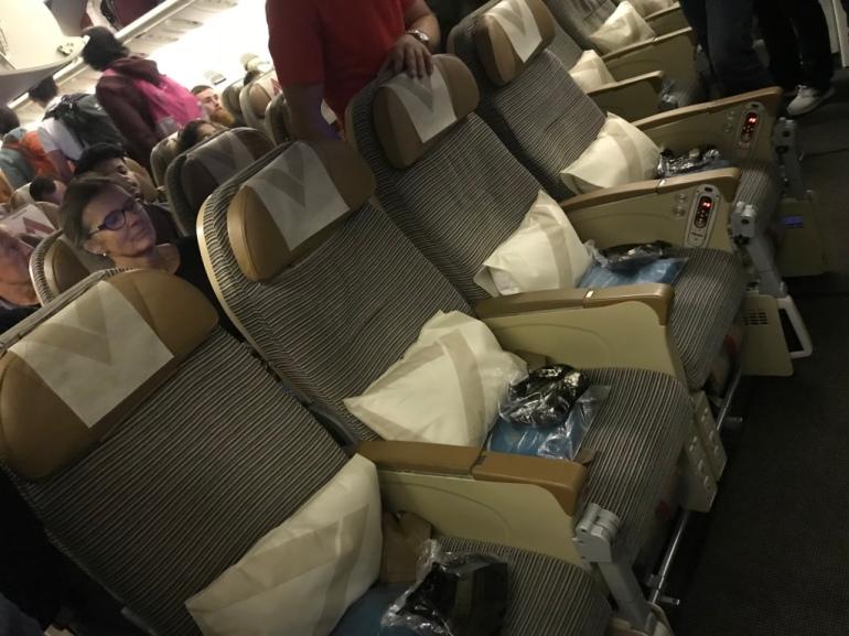 Economy class, Etihad airways