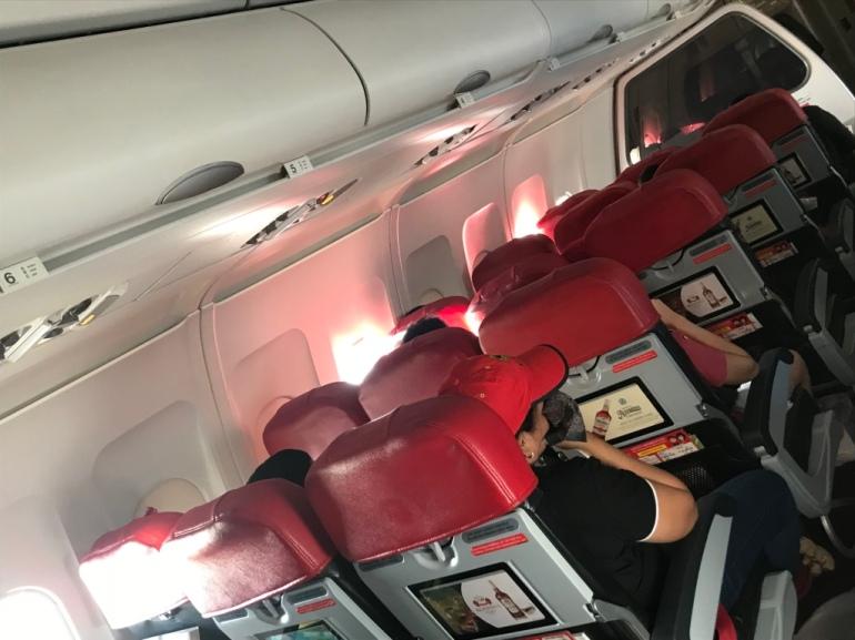 Air Asia interior