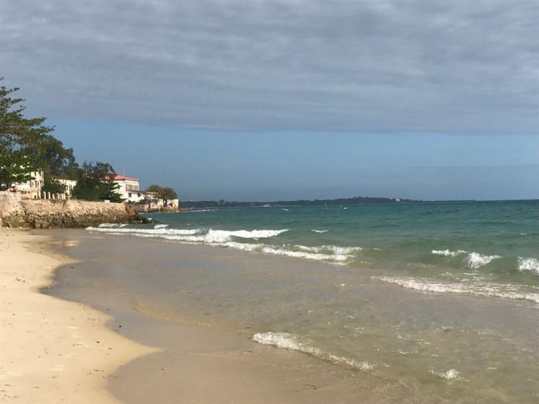 Stone Town beach